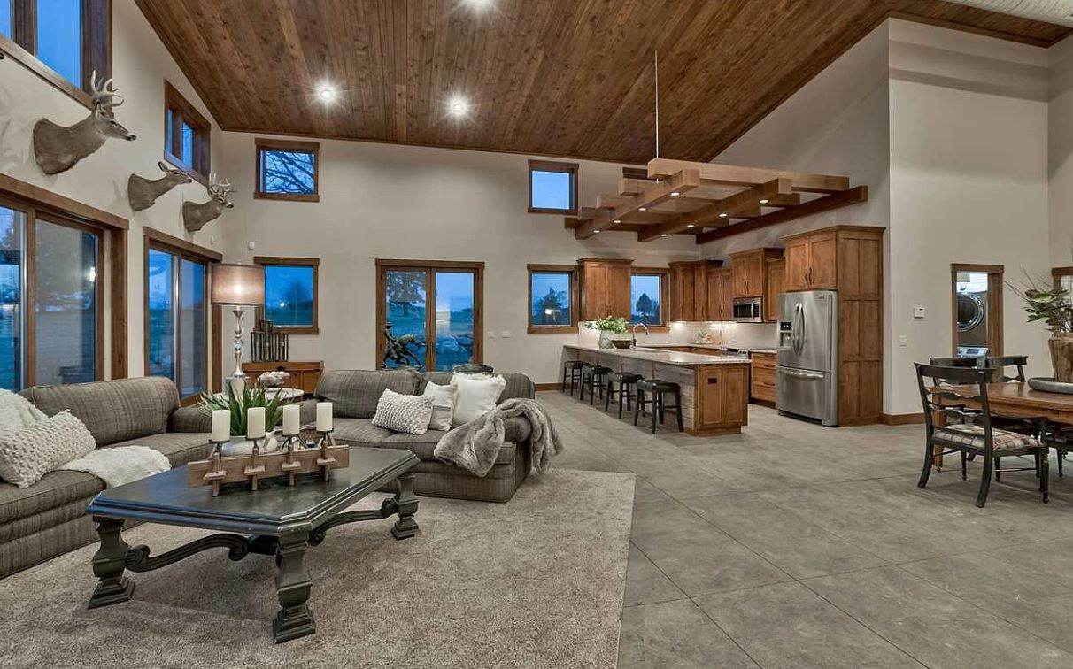Advanced House Plans - Barndominium