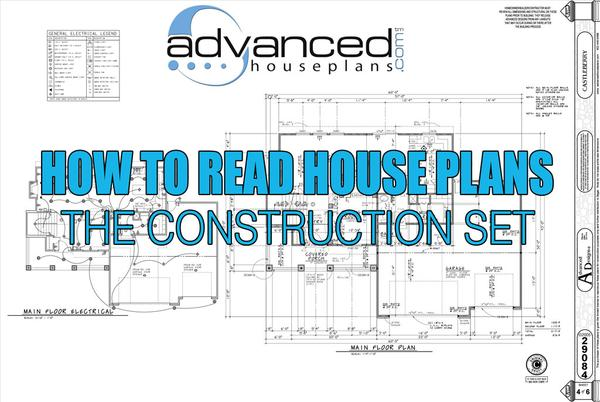 How to read construction set.