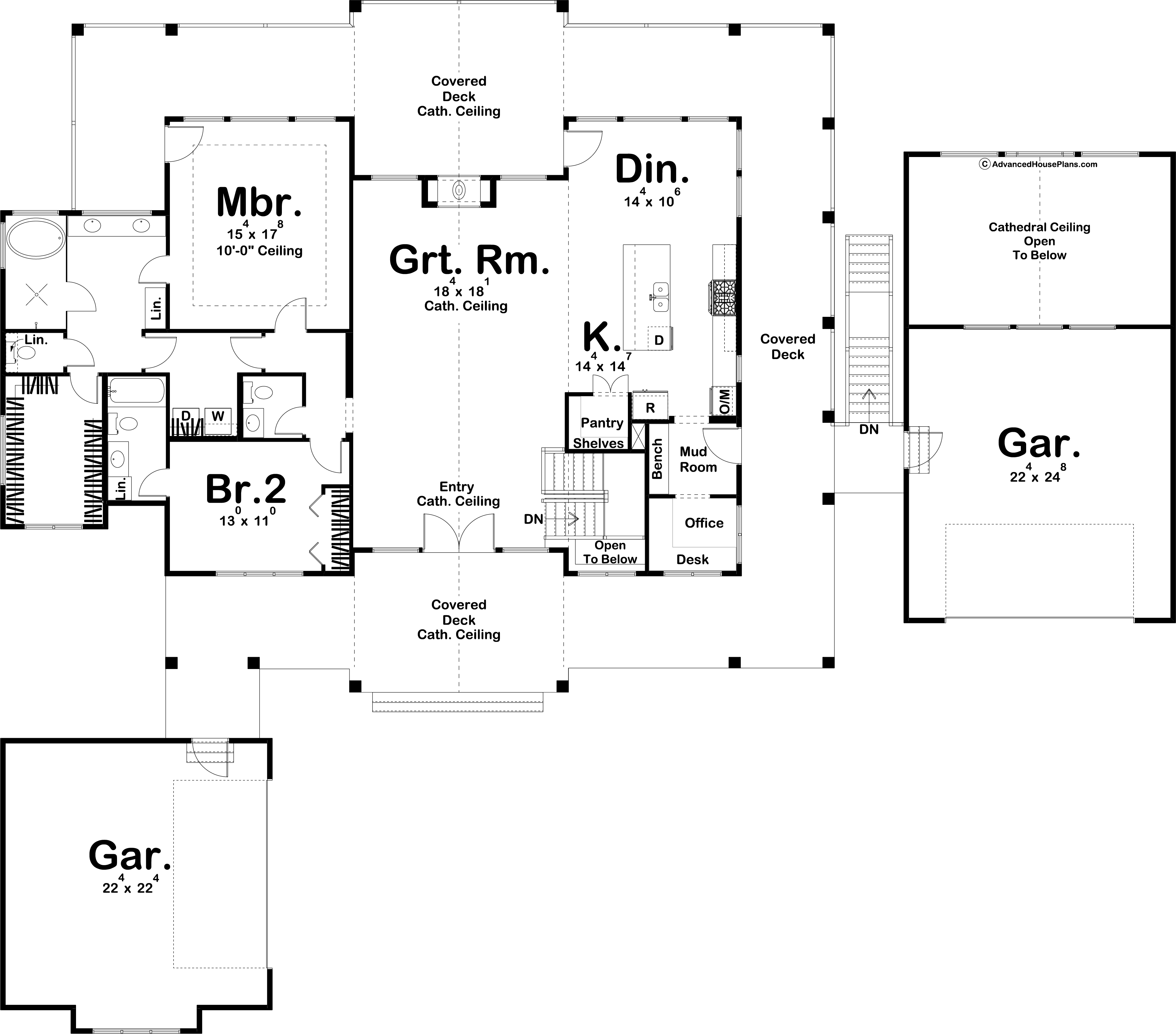 Valley View Floor Plan
