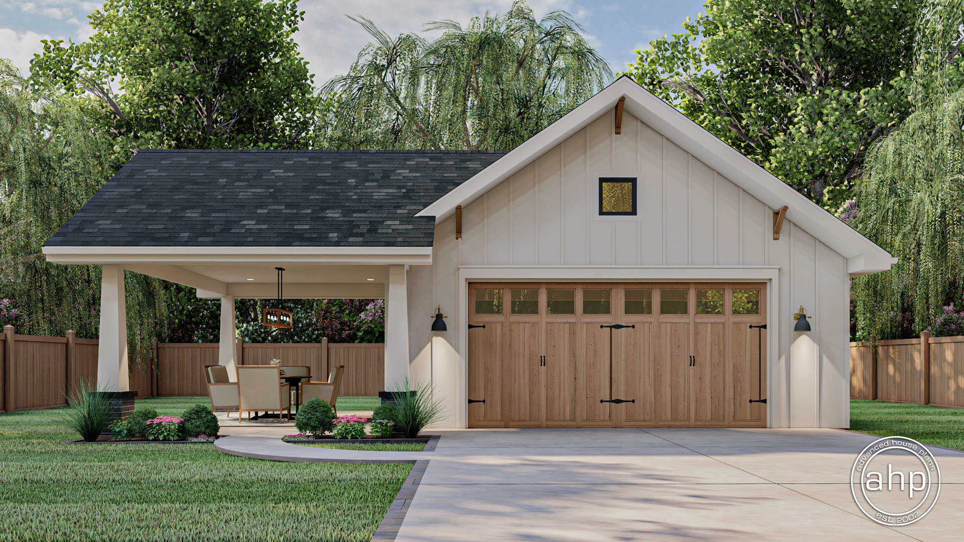 Traditional Garage Plan Caldwell