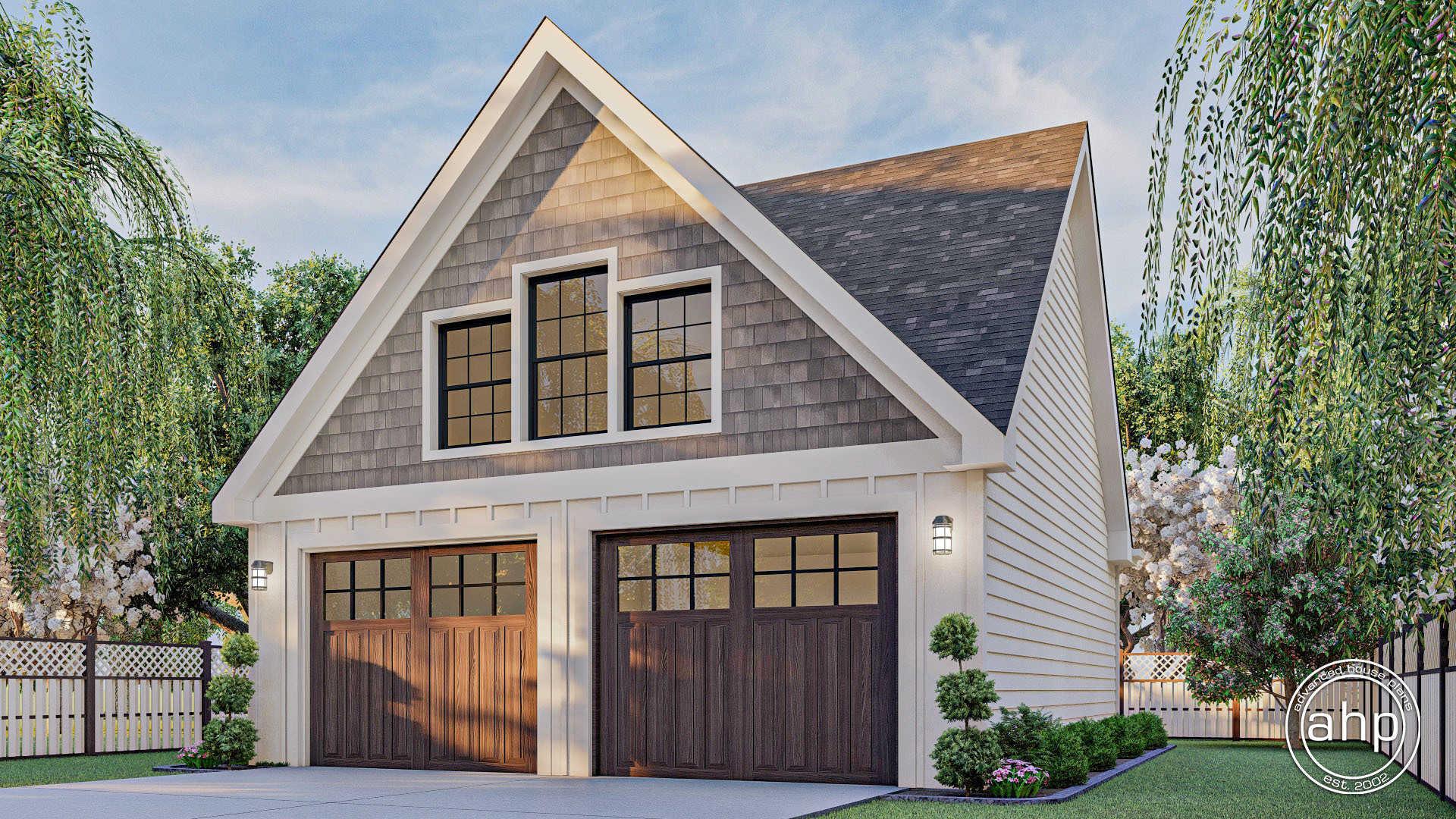 Craftsman Style Garage Plan Stapleton
